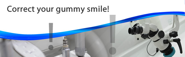 correct gummy smile