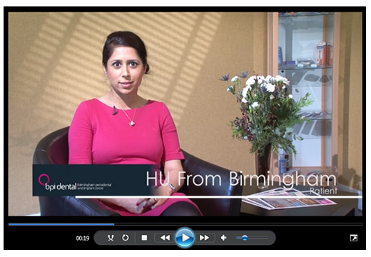 BPI Dental patient testimonials DU Birmingham